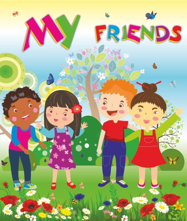 Лепбук «My Friends»