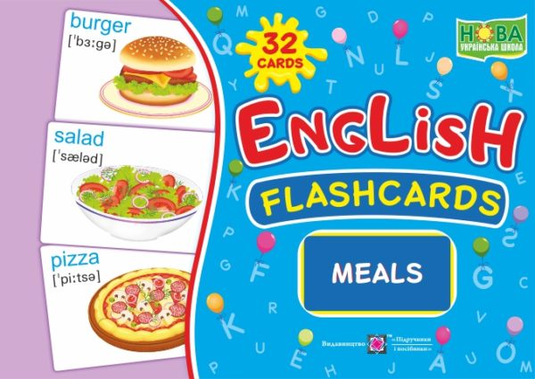 English : flashcards. Meals