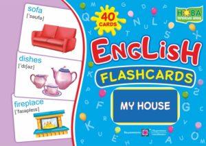 English : flashcards. My house