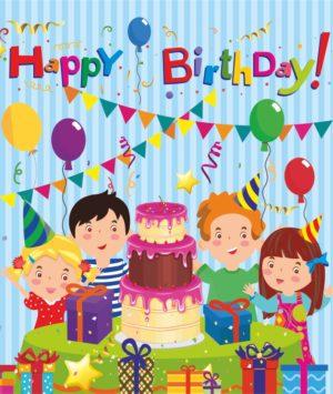 """Лепбук """"Happy Birthday"""""""
