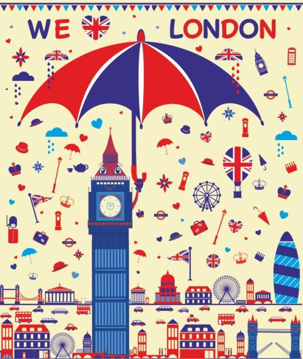 "Лепбук ""Ми любимо Лондон"""