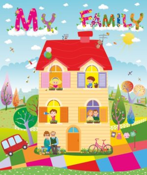 Лепбук «My Family»