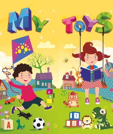 Лепбук «My Toys»