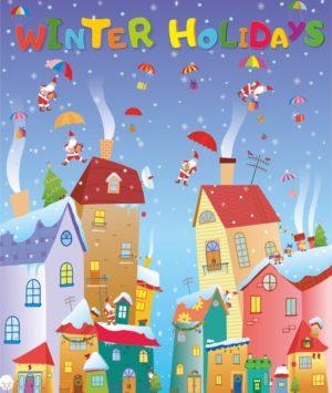 """Лепбук """"Winter Holidays"""""""